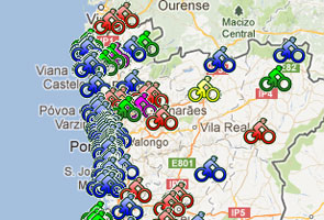 Clique para consultar o mapa de Portugal Continental e Ilhas